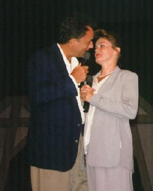 John de Lancie and Kate Mulgrew